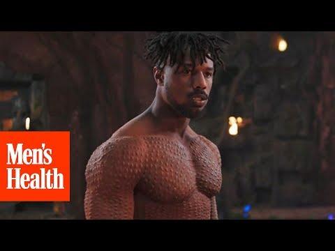 How Michael B. Jordan Got Jacked For 'Black Panther' | Men's Health