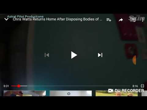 Chris Watts has a flashback of murder.