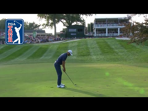 Dustin Johnson's stellar approach leads to win at THE NORTHERN TRUST