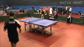 Ping Pong. Russian Open Tour-2015. Final. Dmitry POPOV - Alexey KOKHANYUK