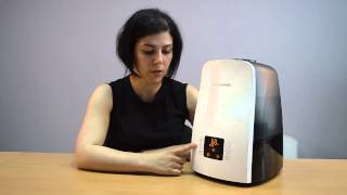 видео увлажнитель воздуха Boneco
