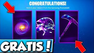 ❌FREE THINGS FOR THE GALAXY SKIN in FORTNITE!! 😱