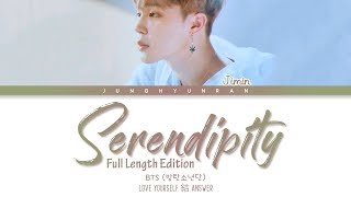 Download Lagu BTS Jimin – SERENDIPITY (Full Length Edition) 「Han/Rom/Eng Lyrics」 mp3