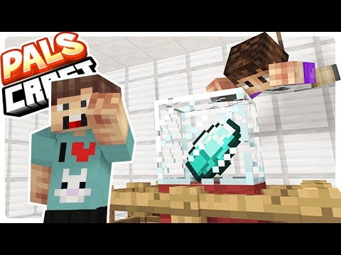 Stealing DIAMONDS from THE PALS!! - PalsCraft Ep 5