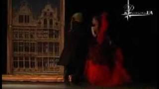 Е.Захарова в спектакле