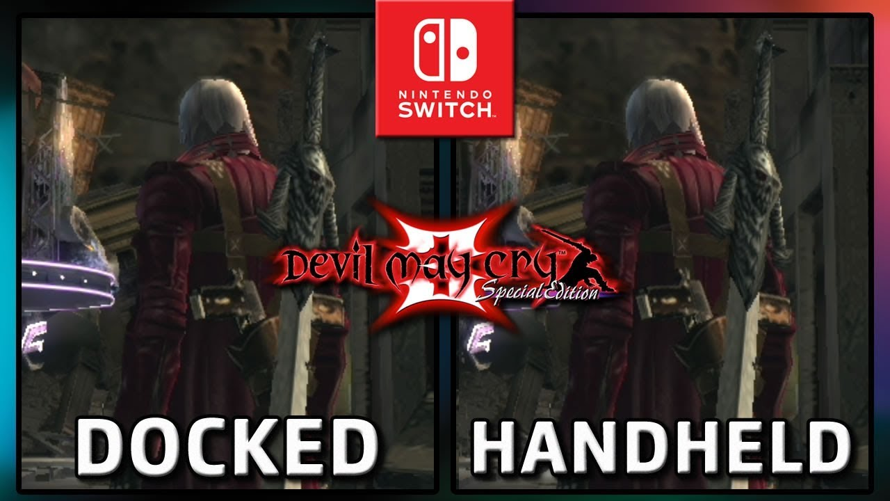 Devil May Cry 3 Special Edition | FRAMERATE Docked & Handheld on Nintendo Switch