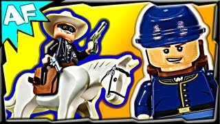 CAVALRY BUILDER Lego Lone Ranger 79106 Animated Building Review