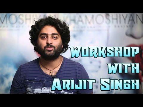 Arijit Singh with Subhash Ghai at MUSIC WORKSHOP