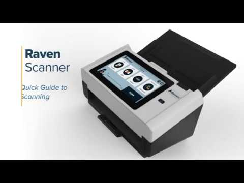 Quick Guide To Scanning With Raven Scanner