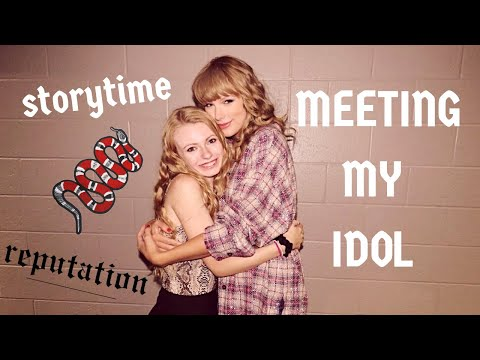 MEETING TAYLOR SWIFT *w footage*