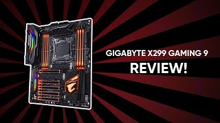 Gigabyte X299 Gaming 9 review | ب١٤ الف جنيه بس