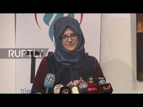 Turkey: Khashoggi's fiancee publishes book in his memory