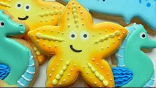 How to Decorate a Starfish Cookie