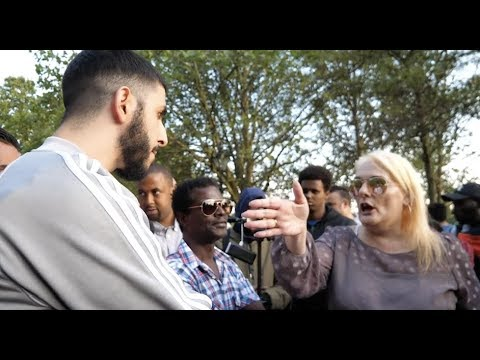YOUR PRAYERS BOTHER ME!! SAYS LADY - SPEAKERS CORNER
