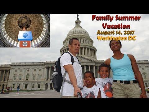 Washington DC Day 2 ep1.2 | The Capitol Bldg 8-14-2017