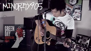 Скачать Green Day Wake Me Up When September Ends Minority 905 Acoustic Cover
