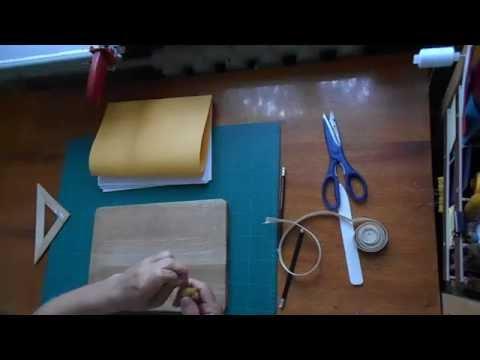 Изготовление книги формата А4: часть 1