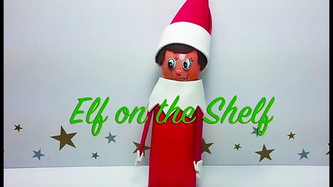 How to make a christmas elf decoration - How To Make An Elf On The Shelf Handmade Craft Perfect Christmas Fun Youtube