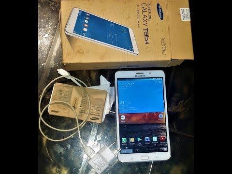 Обзор планшета Samsung Galaxy Tab-4 SM T-231 3g ORIGINAL