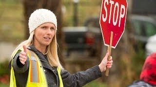 Aubrey Vanderlinden Loves Being a Crossing Guard