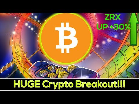 HUGE Crypto Breakout SOON!? (ZRX Up +30% On Coinbase!)