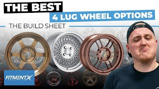 Cover images The Best 4 Lug Wheels Options for Your Car