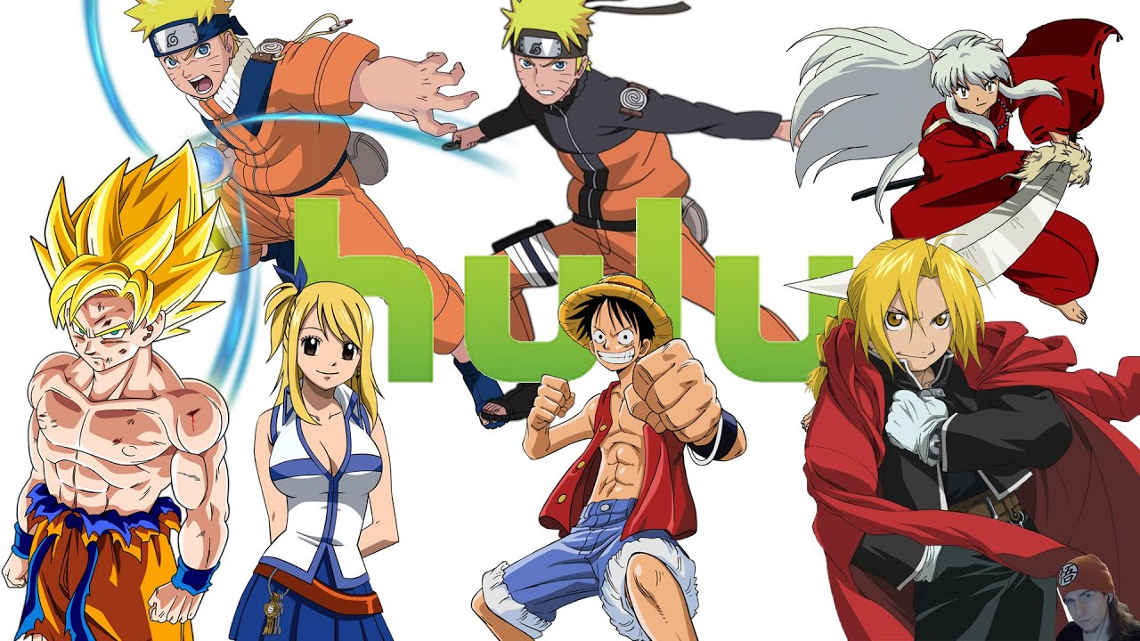 Top 10 anime on hulu