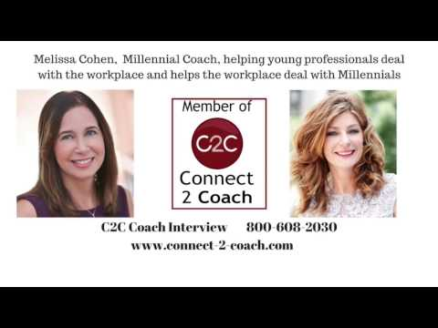 C2C Video Interview with Melissa Cohen, Millennial Coach