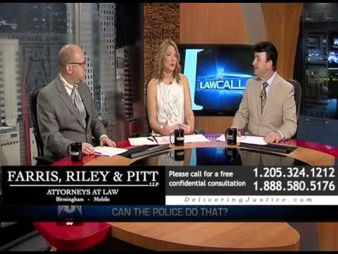 What types of Alabama personal injury cases does Attorney Kirby Farris work on?
