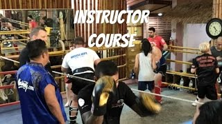 Muay Thai Instructor course at Master Toddy's