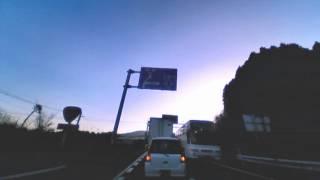 ≡10倍速道案内≡別府港から阿蘇大観峰まで2012122016vs15wcq+w