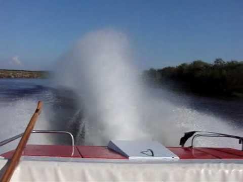 Jet OS.A Boat Trym V8 Deblin POLAND.avi