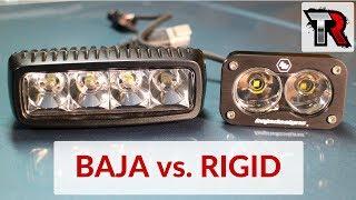 Baja Designs S2 PRO Pair UTV LED Light Flood Work Pattern