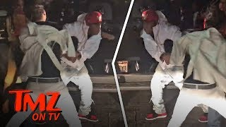 Rapper Vs. Drunk Guy Fight At NBA All-Star Game! | TMZ TV