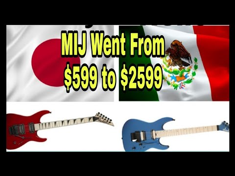 Why Jackson Doesn't  Make Guitars In Japan Anymore