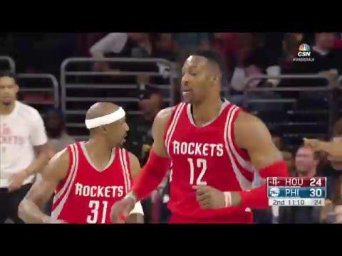Houston Rockets vs Philadelphia 76ers - March 9, 2016