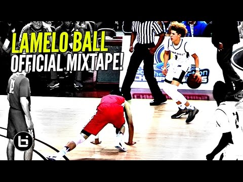 LaMelo Ball OFFICIAL Mixtape! The MOST EXCITING Player High School!! Ankle Bully CEO