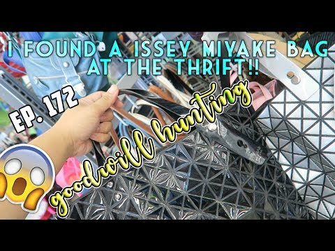 FOUND A BAO BAO X ISSEY MIYAKE & PRADA BAG AT THE THRIFT - GOODWILL HUNTING EP. 172