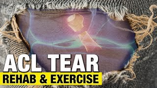 acl tears rehab tips and best exercise