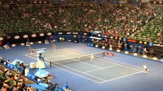 全豪オープンテニス2014 女子ダブルス決勝