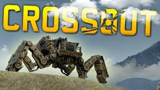 Crossout - The Largest Vehicle in Crossout? Spider Artillery & More - Crossout Best Creations