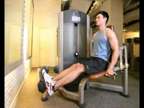 Gerakan Latihan Otot Betis - Calf Raises (Machine)
