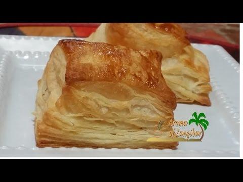Puff pastry dough recipe easy