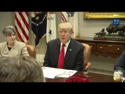 President Trump has Lunch with Republican Members of the Senate