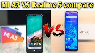 MI A3 VS Realme 5 compare and suggestion 🔥