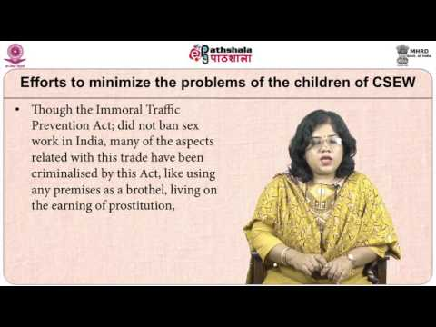 Children of Commercially Sexually Exploited Women (SWE)