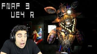 PHANTOM FOXY IS SO BROKEN! - FNaF 3 Unreal Engine 4 & Five Nights at Sheepy's