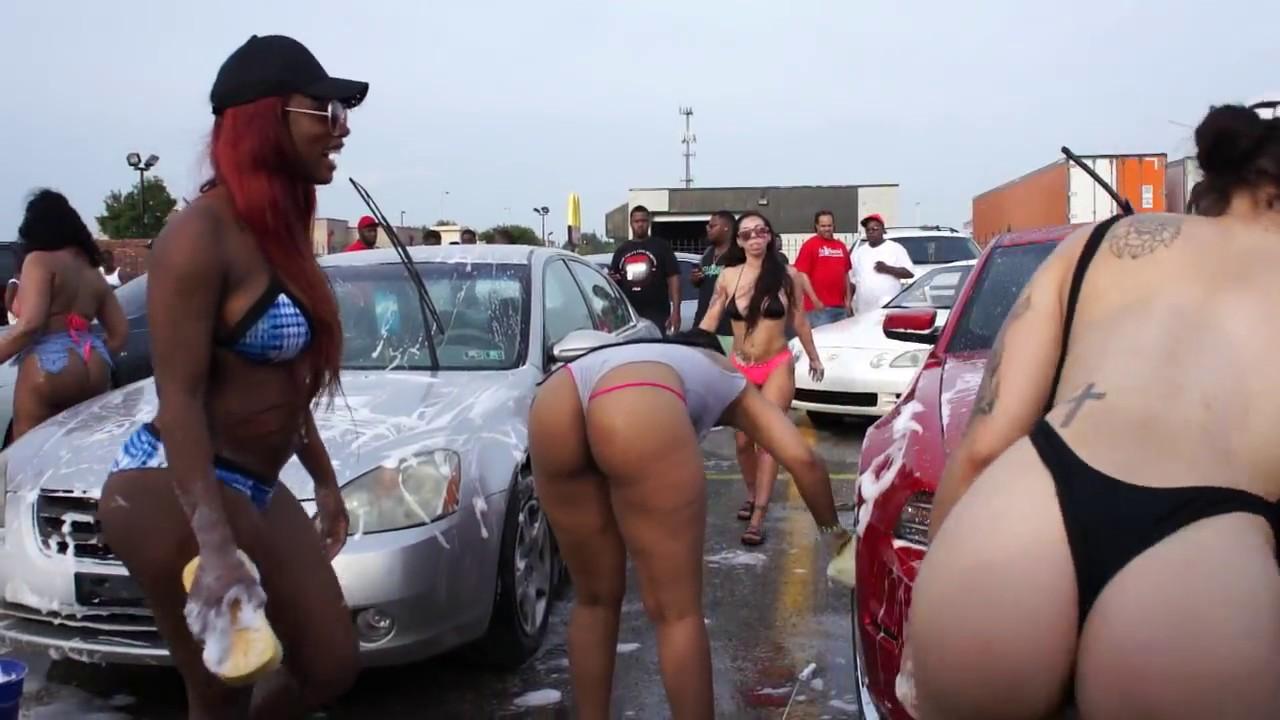 Wild girls bikini car wash, do girls really like anal
