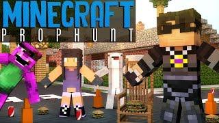 ROSS' NIGHTMARE FUEL! | Minecraft Mini-Game PROP HUNT! /w Facecam