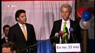 PVV aanhang scandeert: minder Marokkanen